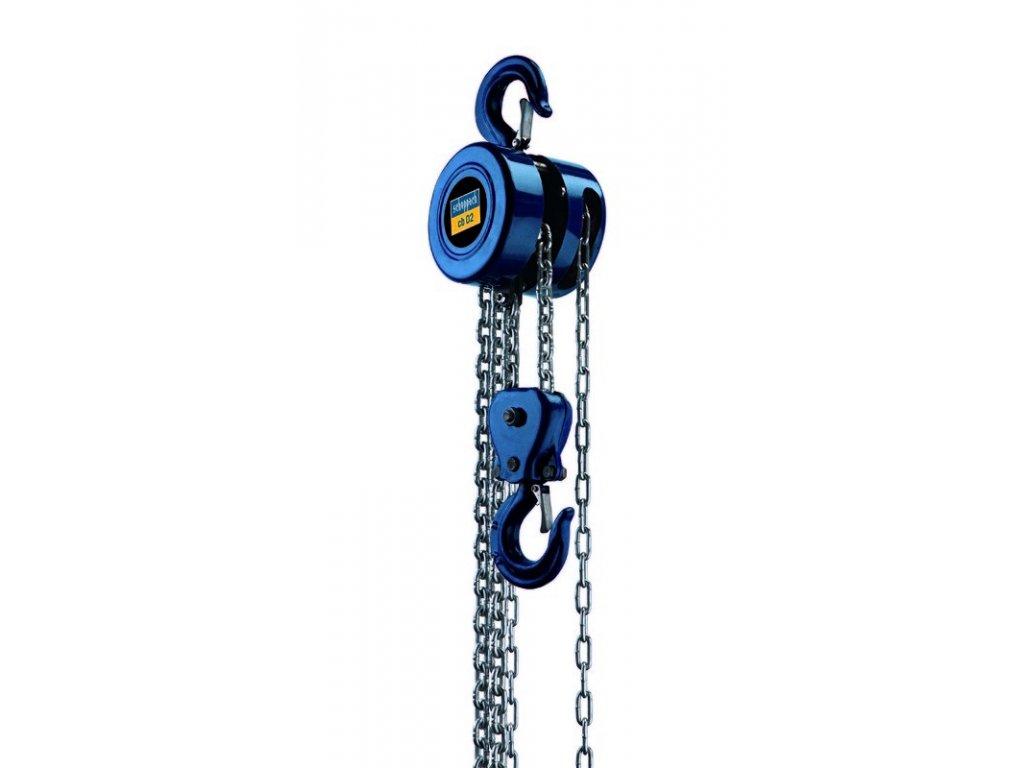Řetězový kladkostroj SCHEPPACH CB 01 ruční
