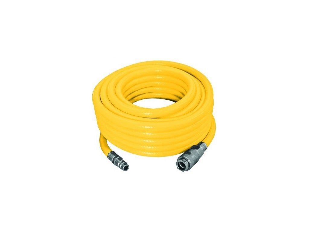 Tlaková hadice opletená PROTECO 20m, 9/15mm PVC s rychlospojkami