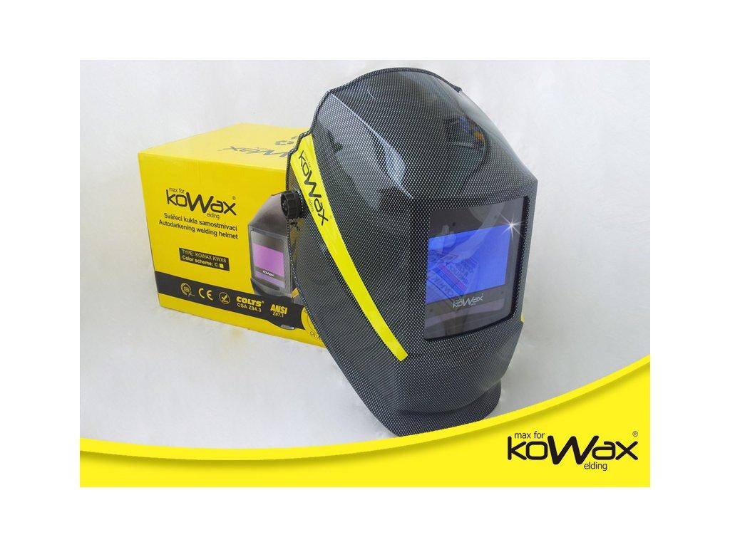Samostmívací svářečská kukla KOWAX KWX8
