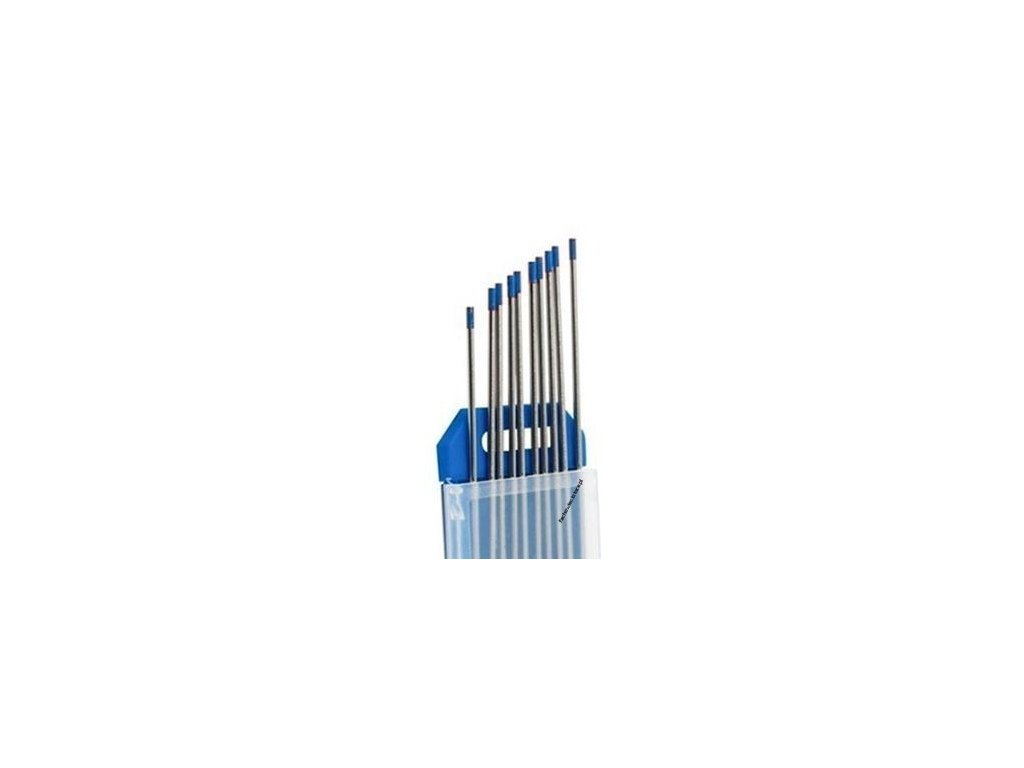 Svářecí elektroda wolframová WL20 2,4x175 modrá BINZEL