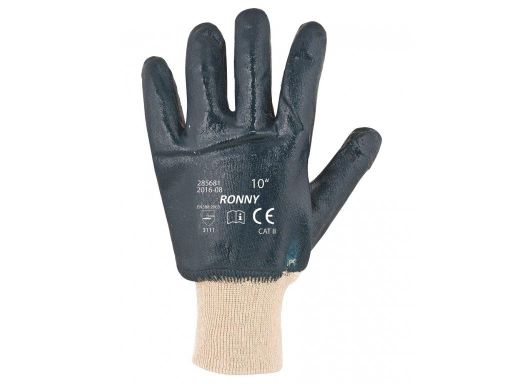 Pracovní rukavice ARDON RONNY máčené, vel. 9