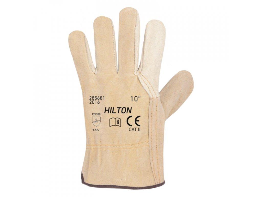 Pracovní rukavice ARDON HILTON kožené, vel. 10