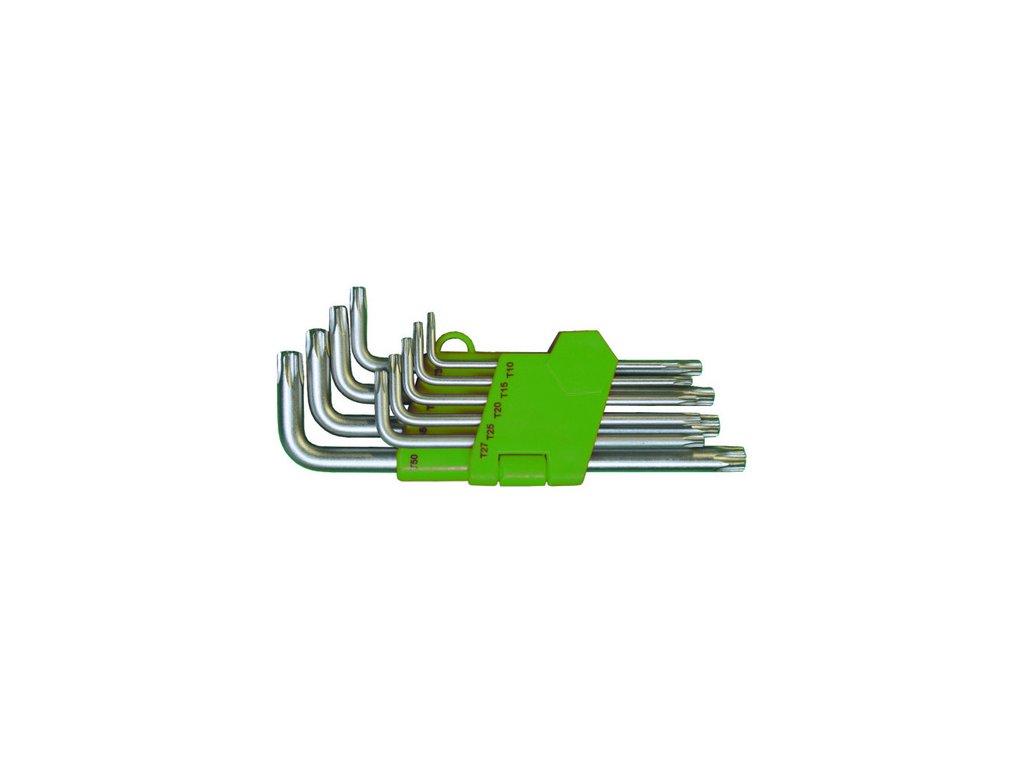 Sada zástrčných klíčů GOLA Torx TX 10 - TX 50