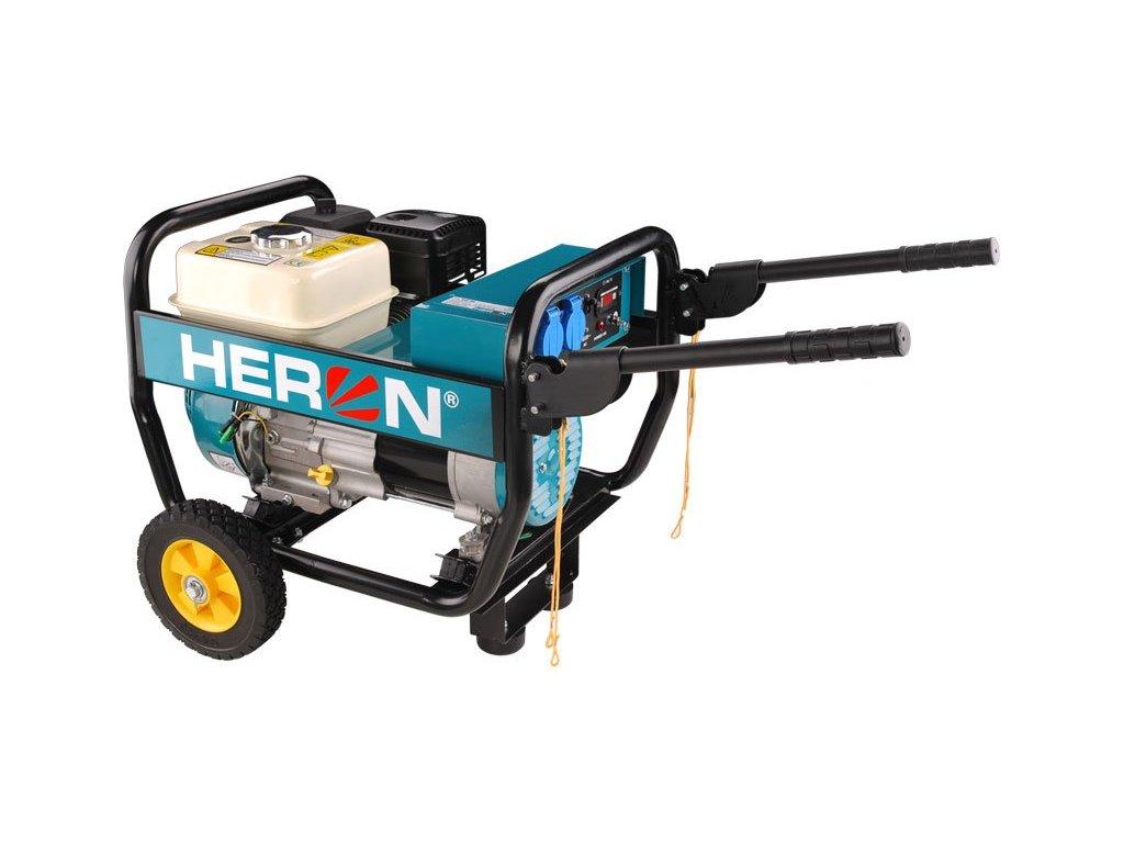 Elektrocentrála HERON benzínová 6,5HP/2,8kW, industriální