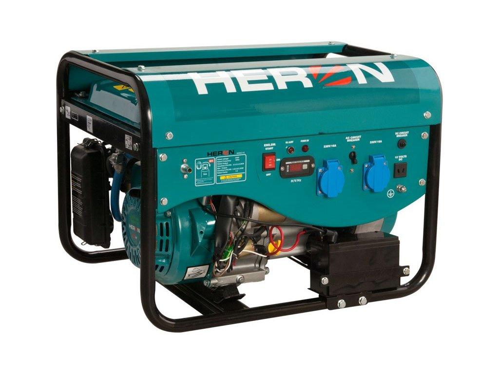 Elektrocentrála HERON LPGG 22 (LGP/NG) 6,3HP/2,4kW