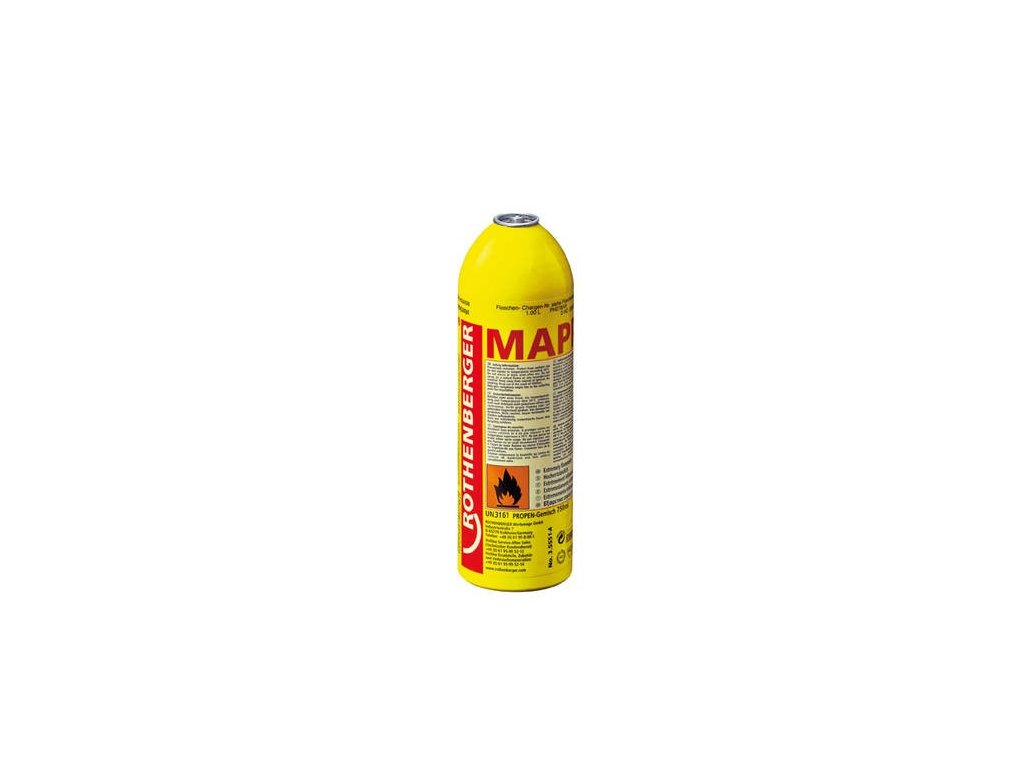 Plyn  MAPP 750ml/411g  Rothenberger