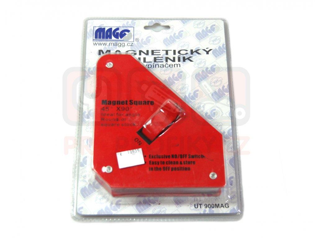 Magnetický úhelník s vypínačem MAGG