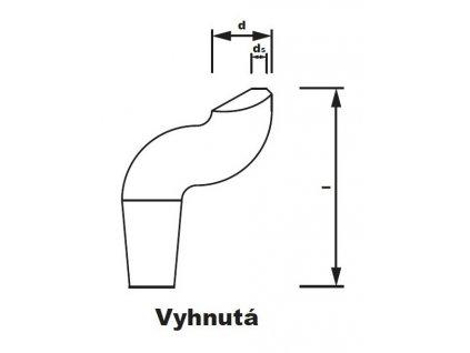 Bodová elektroda TECNA 4723 (pr.20) vyhnutá