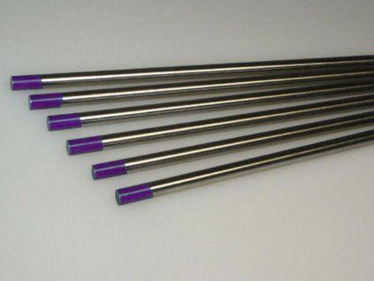 Svářecí elektroda wolframová E3 2,4x175 fialová
