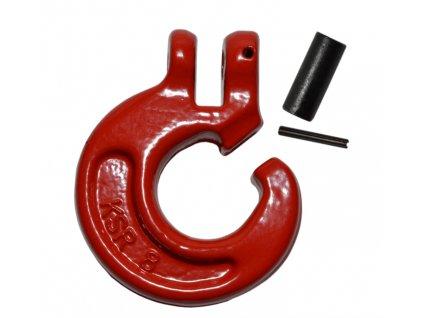 Hák C KSR 8 mm červený