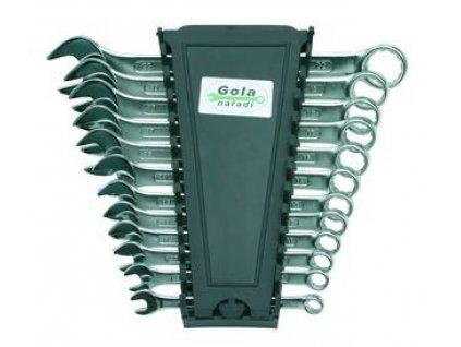 Sada očkoplochých klíčů GOLA 8-22 DIN3113 plastový držák