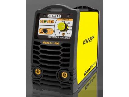 SET KOWAX® GeniArc®140 Svař. invertor MMA/TIG vč.3m kabelů, svorky, a drž.el.+ kukla samostmívací ZDARMA
