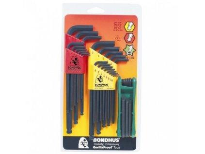 Sada zástrčných klíčů BONDHUS 10999+10937+12634
