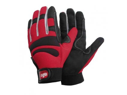 Pracovní rukavice ISSA Line LONG COMFORT červené