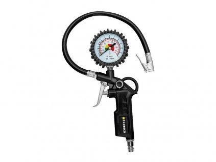 Pistole  s manometrem na huštění pneumatik PROTECO 42.09-PH01