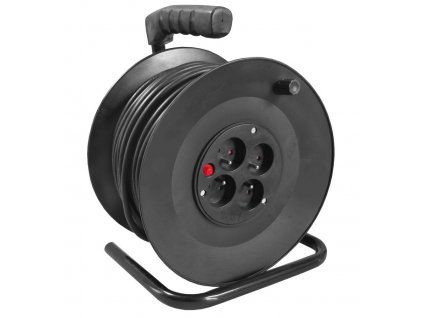 Kabel prodlužovací na cívce PROTECO 25m  pr.1,5 mm