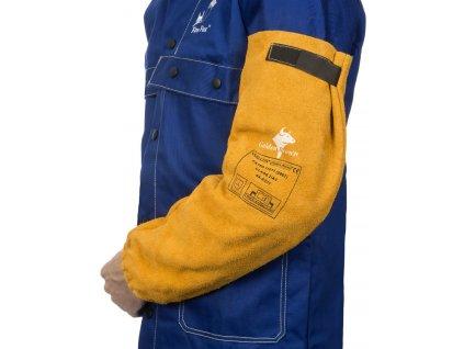 Svářečské kožené rukávníky WELDAS Golden Brown