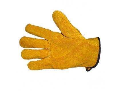 Pracovní rukavice PROFIK kožené, vel. 10,5