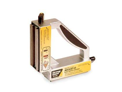Úhelník magnet.152x152mm ADJUST 2 vyp Strong Hand Tools