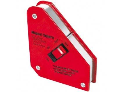 Úhelník magnetický PROTECO 130x152x 28mm s vypínačem