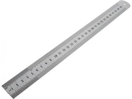Měřítko nerezové EXTOL 50cm (pravítko)