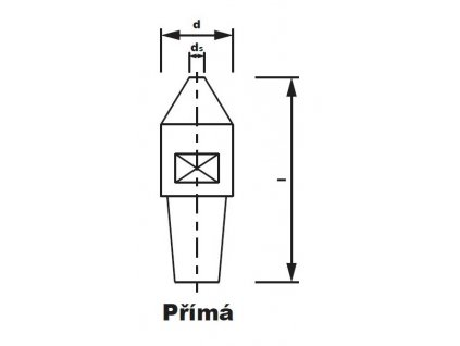 Bodová elektroda TECNA 4720 (pr.20) přímá