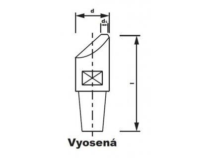 Bodová elektroda TECNA 4721 (pr.20) excentrická