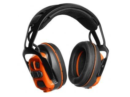 Chrániče sluchu Husqvarna X-COM R s náhlavním obloukem
