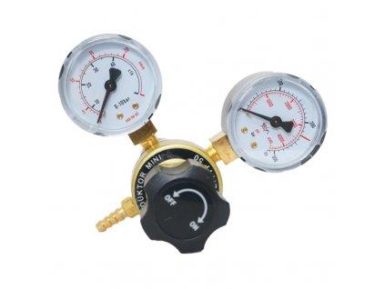Redukční ventil S50 CO2 mikro 2m G3/4 dva manometry