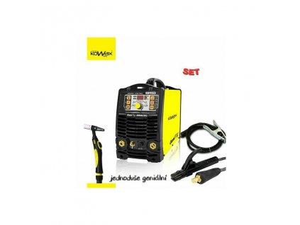 Svářečka KOWAX® GeniTig® 200 AC/DC TIG/MMA + 4m