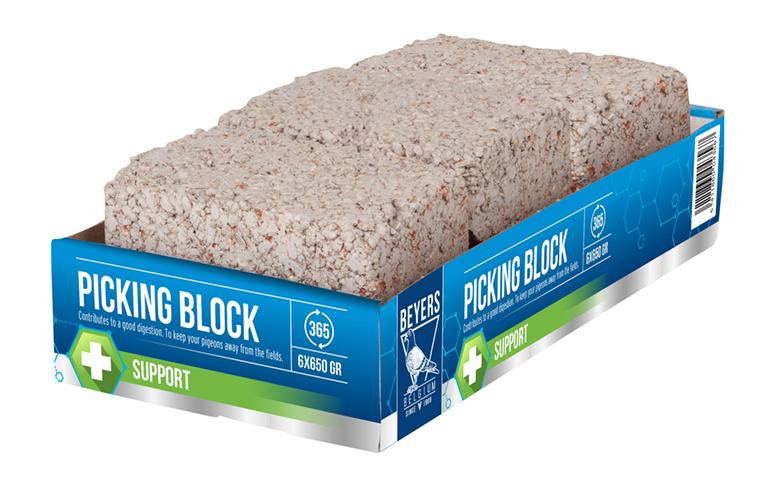 BEYERS Picking Block - 6 x 650 GR