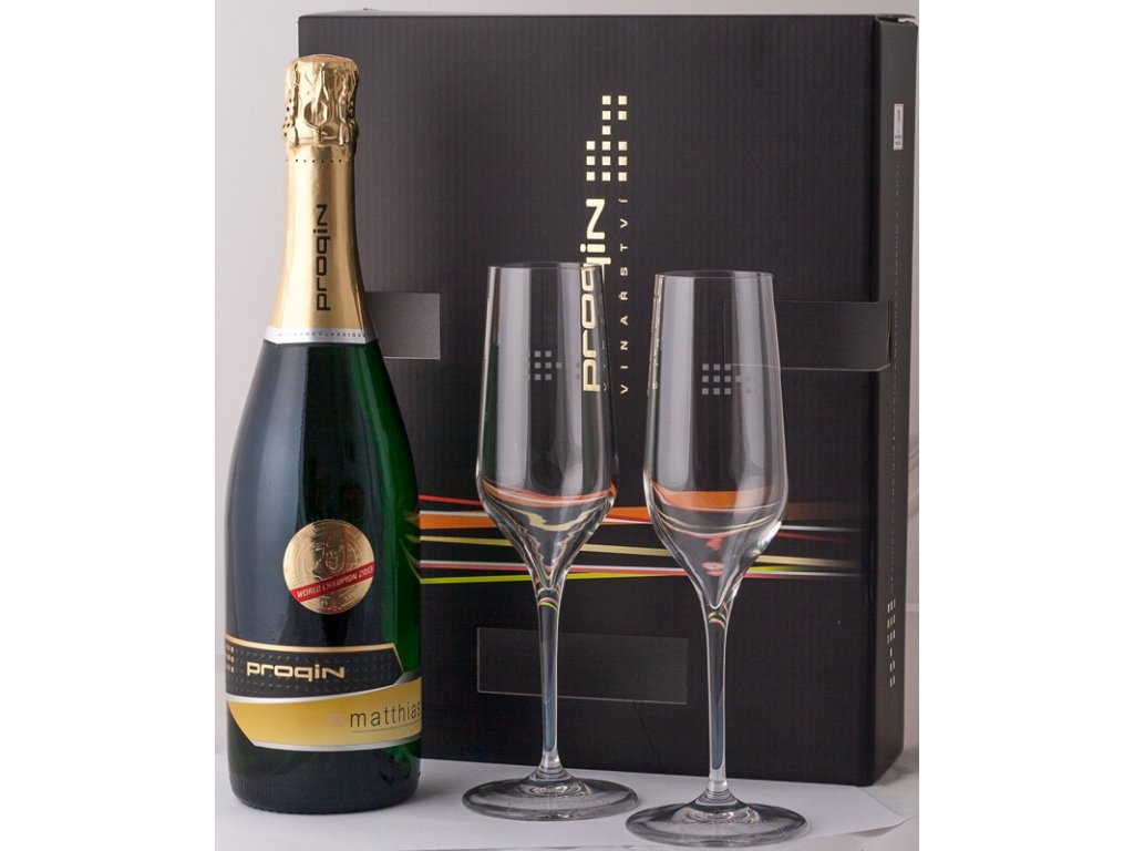 darkovy set sklenice pro sumive vino intelligent brut cuvee