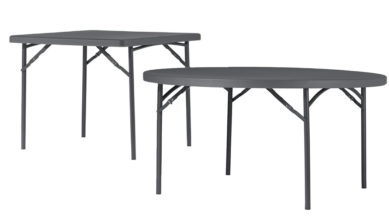 Plastové skládací stoly