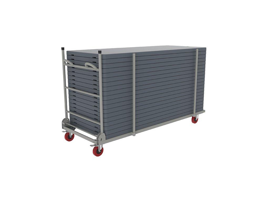 Transportní vozík pro stoly široké 76 cm
