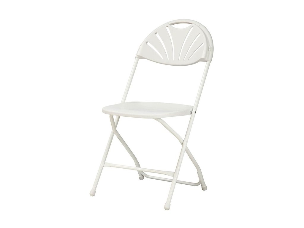Skládací židle Alexandra bílá