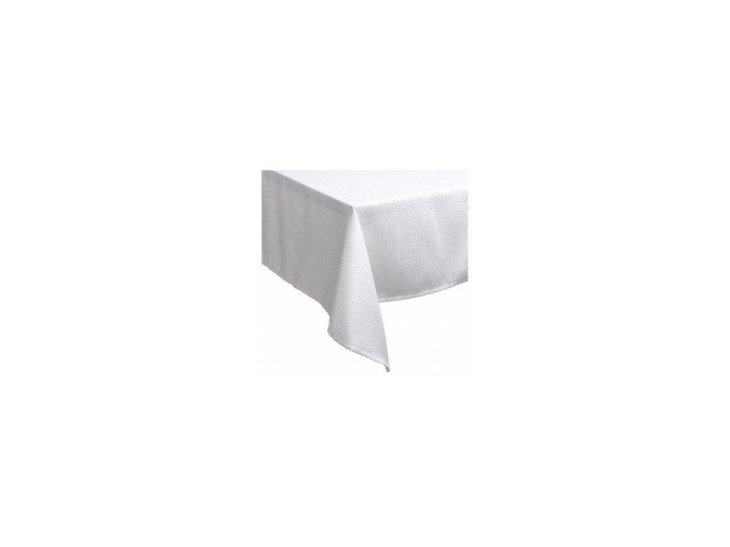 Bílý ubrus 130 x 130 cm