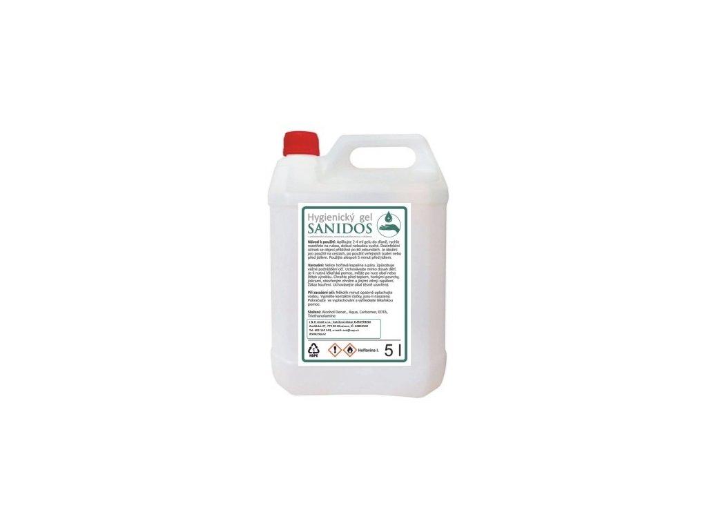 Desinfekční gel Sanidos