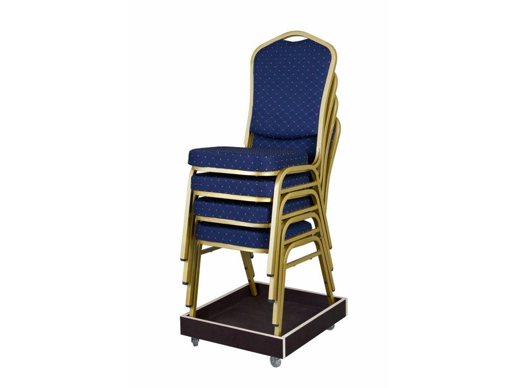 Transportní vozík na banketové židle