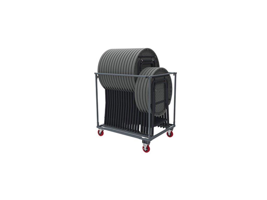 Transportní vozík pro koktejlové stoly
