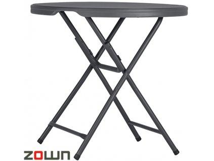 Kavárenský skládací stolek Praxis 80 Zown