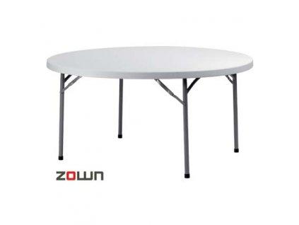 Rautový stůl 152 cm skládací