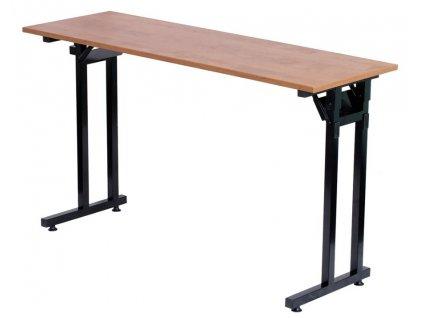 Banketový stůl typu školní lavice