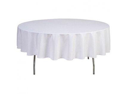 Ubrus na kulatý stůl