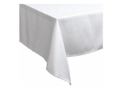 Bílý ubrus 225 x 130 cm