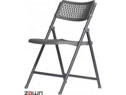 Skládací židle Aran tmavě šedá