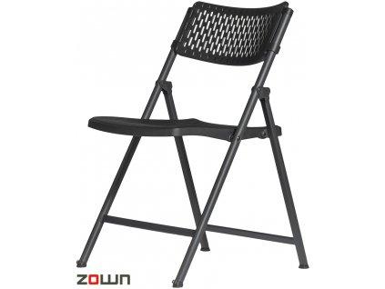 Skládací židle Aran černá