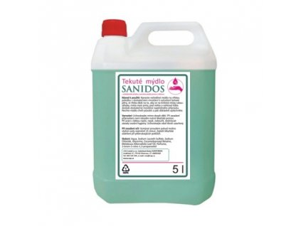 Antibakteriální mýdlo Sanidos