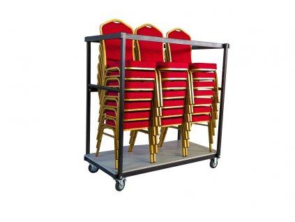 Transportní vozík banketové židle