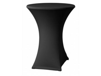 Elastický potah na koktejlový stůl průměr 60 cm,bílý