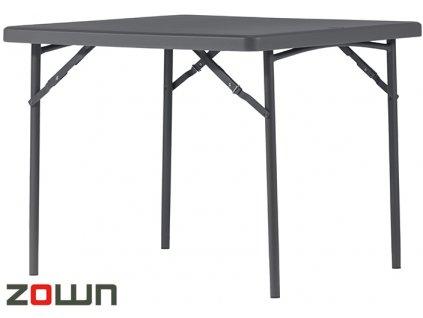 Rautový stůl čtvercový pro 4 osoby